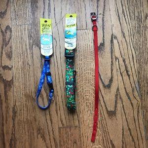 3 XS / S holiday dog collars